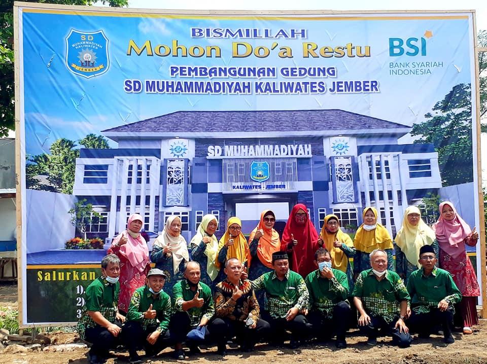 Sedekah Jariyah Pembangunan SD Muhammadiyah 1 Kaliwates