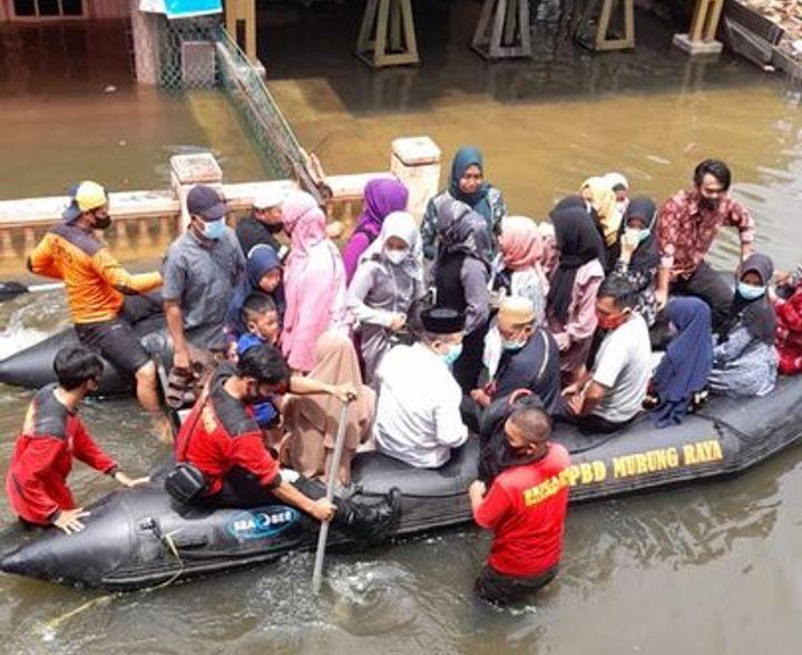 Kalteng Berduka, Banjir Dua Meter Rendam Ribuan Rumah