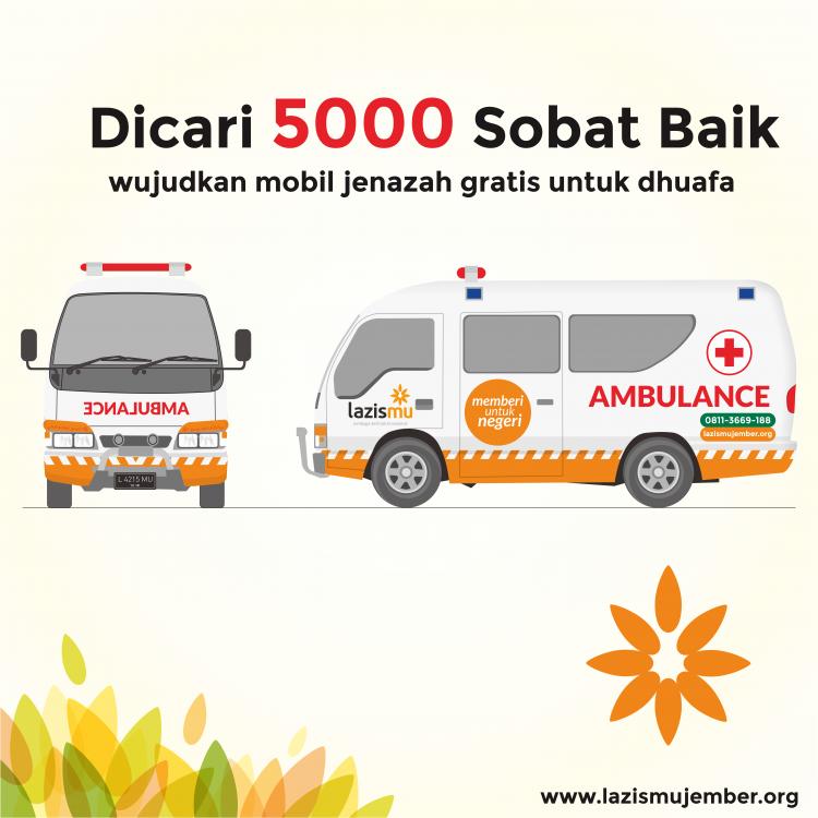 donasi ambulance jenazah