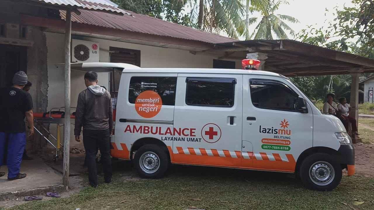 ambulance lazismu belitung